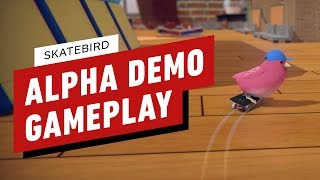 SkateBIRD Alpha Demo Gameplay