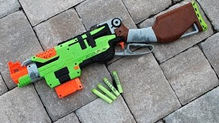 [REVIEW] Nerf Zombie Strike Slingfire Unboxing, Review, and Firing Test