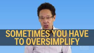 Best-selling author and podcast host malcolm gladwell came by to talk about many topics, including politics, the police, his books, advice for college st...