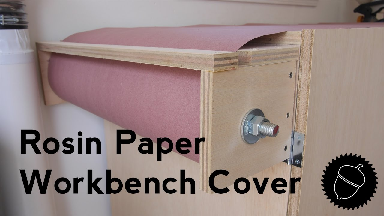 Elegant How To Make A Paper Workbench Cover   Easiest Way To Protect Your Workbench!