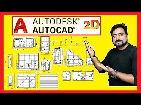 AutoCAD 2D Modeling Layout