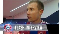 Holger Badstuber nach dem 8:0-Sieg vs. HSV