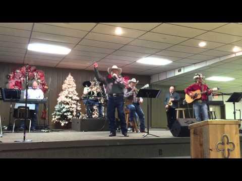 Larry Reese Singing at Cowboy Church of Brenham, tx