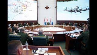 Заседание Коллегии Минобороны России под руководством Сергея Шойгу (18.09.2018)