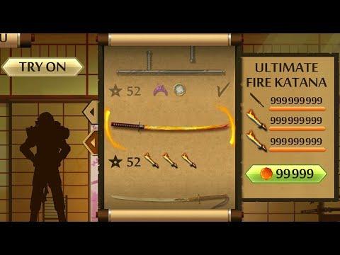 Shadow Fight 2 The Most Powerful FIRE KATANA