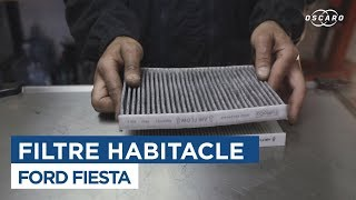 Comment changer le Filtre Habitacle - Ford Fiesta 6