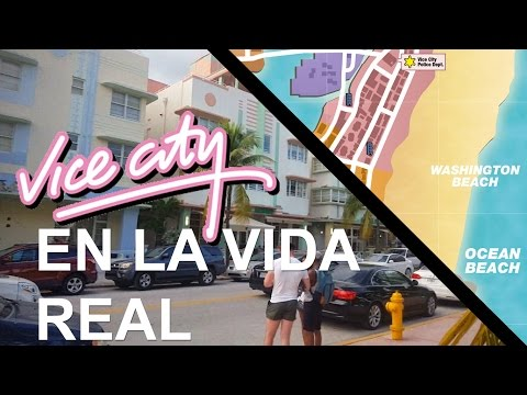VICE CITY EN LA VIDA REAL (VICE CITY Vs MIAMI)