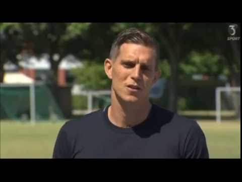 Daniel Agger announces retirement from football press conference 09/06/16