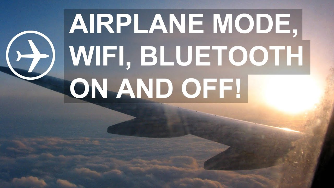 Android How To Set Airplane Mode Wifi And Bluetooth On And Off Youtube