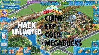 Megapolis - Hack Unlimited : EXP Coins Gold Megabucks