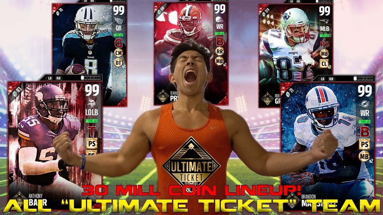 all-ultimate-ticket-team-builder-30-million-coin-team-1st-season-madden-17-ultimate-team
