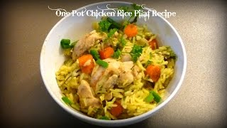 One Pot Chicken Rice Pilaf Recipe | By Victoria Paikin