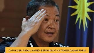 Datuk Seri Abdul Hamid, Berkhidmat 43 Tahun Dalam PDRM
