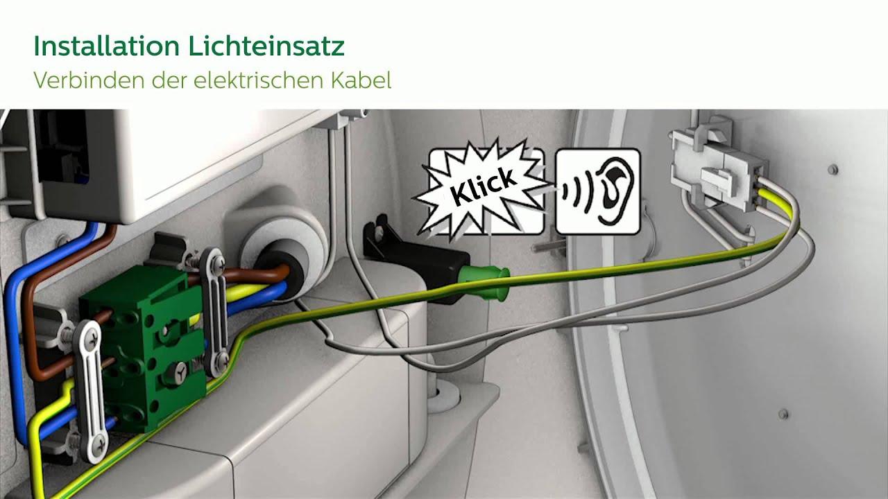 CoreLine LED- Wand und Deckenleuchte (Notlicht & Bewegungsmelder ...