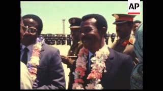History: Ex Ethiopian President Colonel Mengistu Hailemariam Visits Zimbabwe