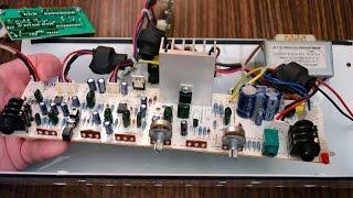 Небольшой ремонт комбоусилителя Orange CR20LDX