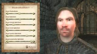 tES 4 Oblivion Creation of the character - Создание персонажа