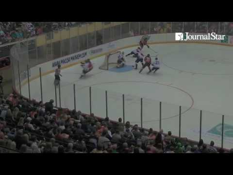 VIDEO: Highlights from Peoria Rivermen 2-1 loss to Macon Mayhem in Game 2 of SPHL President's Cup Fi