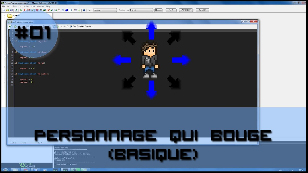 comment mettre game maker en francais