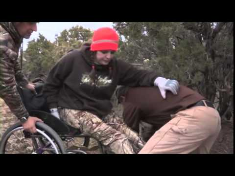Extreme Wheelchair Bull Elk Hunt with Wyoming Disabled Hunters and The Best of The West