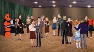 Die Tanzstunde: feuchte Hände, wehe Füße | Karambolage | ARTE