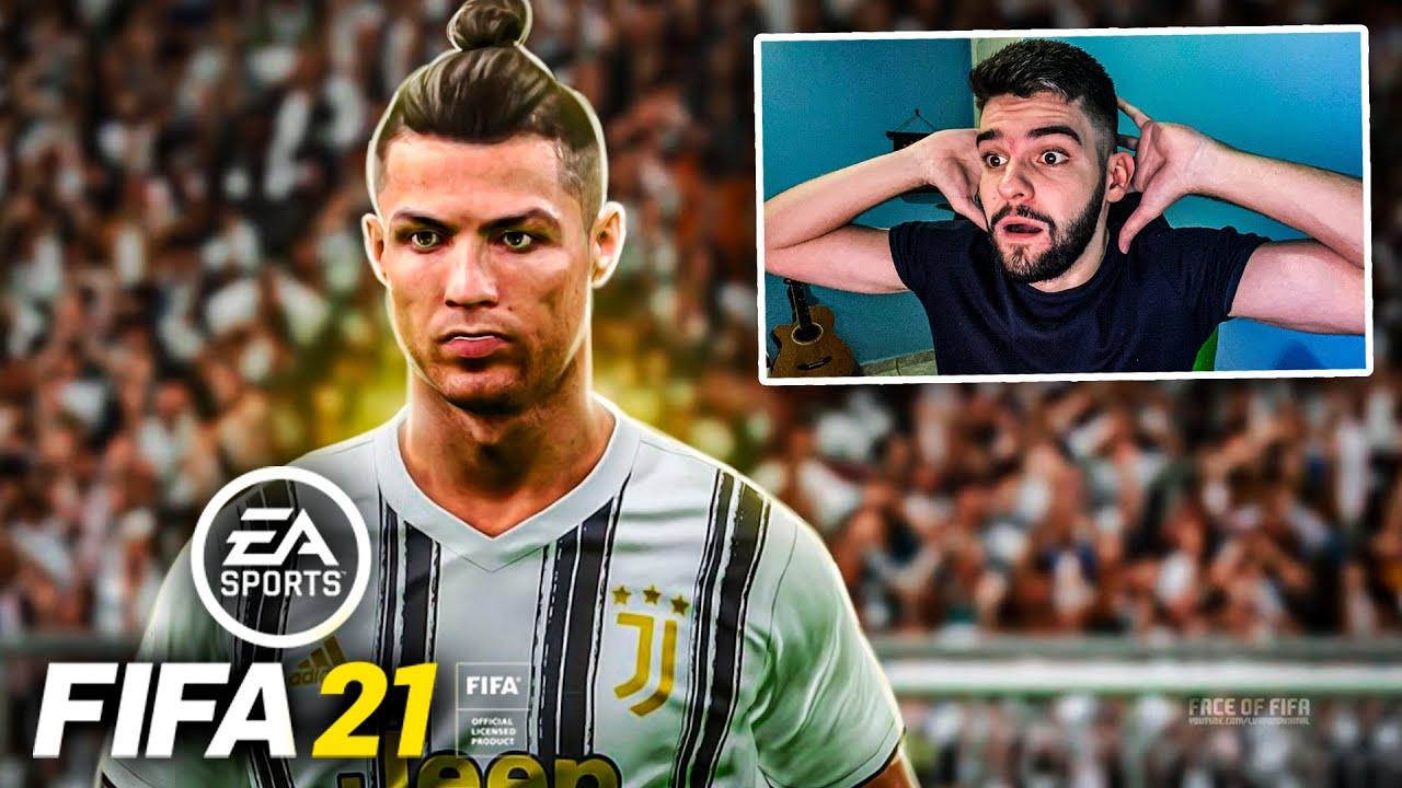 FIFA 21!! ÉPICO!!! CR7 TÁ ABSURDO DEMAIS!! GAMEPLAY FIFA 21!!