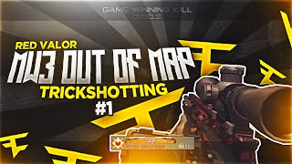 MW3 Out Of Map Trickshotting #1 (2 SHOTS!)