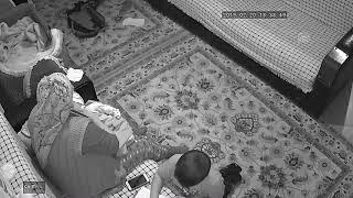 Deprem anı güvenlik kamerasında ÇANAKKALE