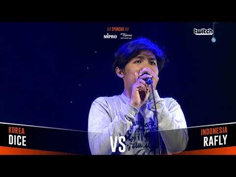 DICE VS RAFLY |Asia Beatbox Championship 2018  Solo Beatbox Battle
