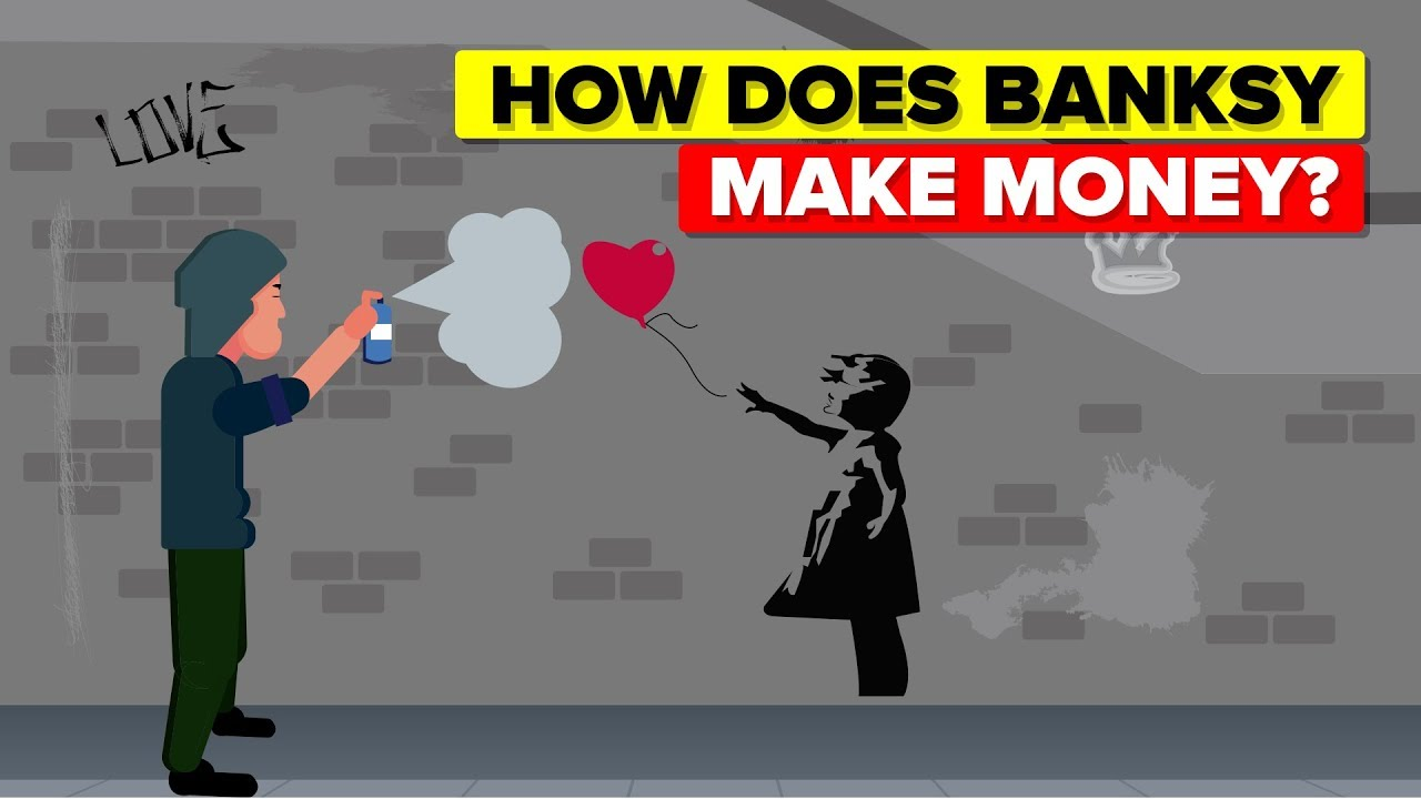 how-does-banksy-make-money
