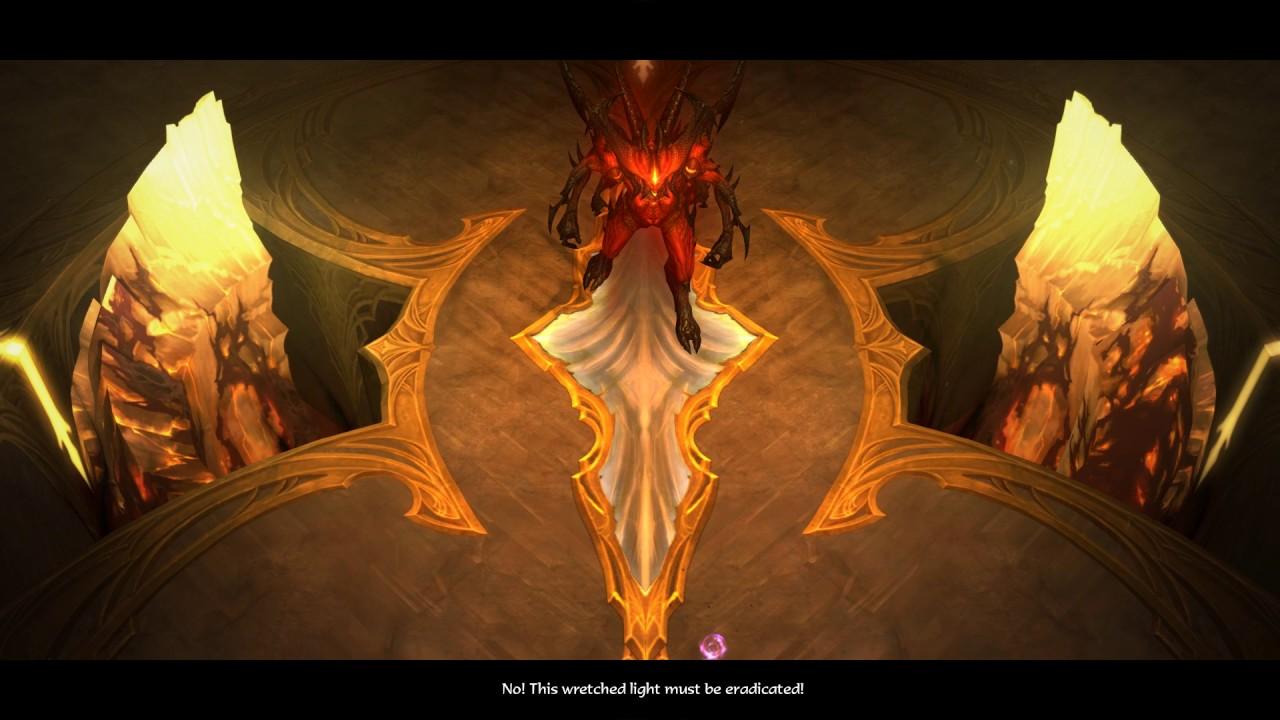 Diablo III - Nephalem vs Diablo - YouTube