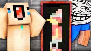 ЗАТРОЛЛИЛ НУБА СЕКРЕТНОЙ КАРТИНОЙ — МАЙНКРАФТ ТРОЛЛИНГ — НЕБЕСНОЕ ВЫЖИВАНИЕ #37 — Майнкрафт Скайблок