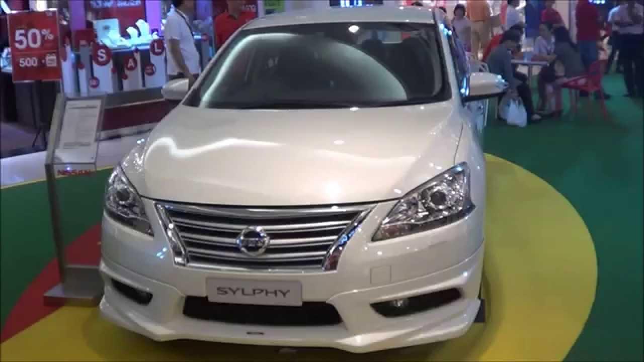 Nissan Sylphy Impul Aerokit BodyKit 2015 Short Take - YouTube