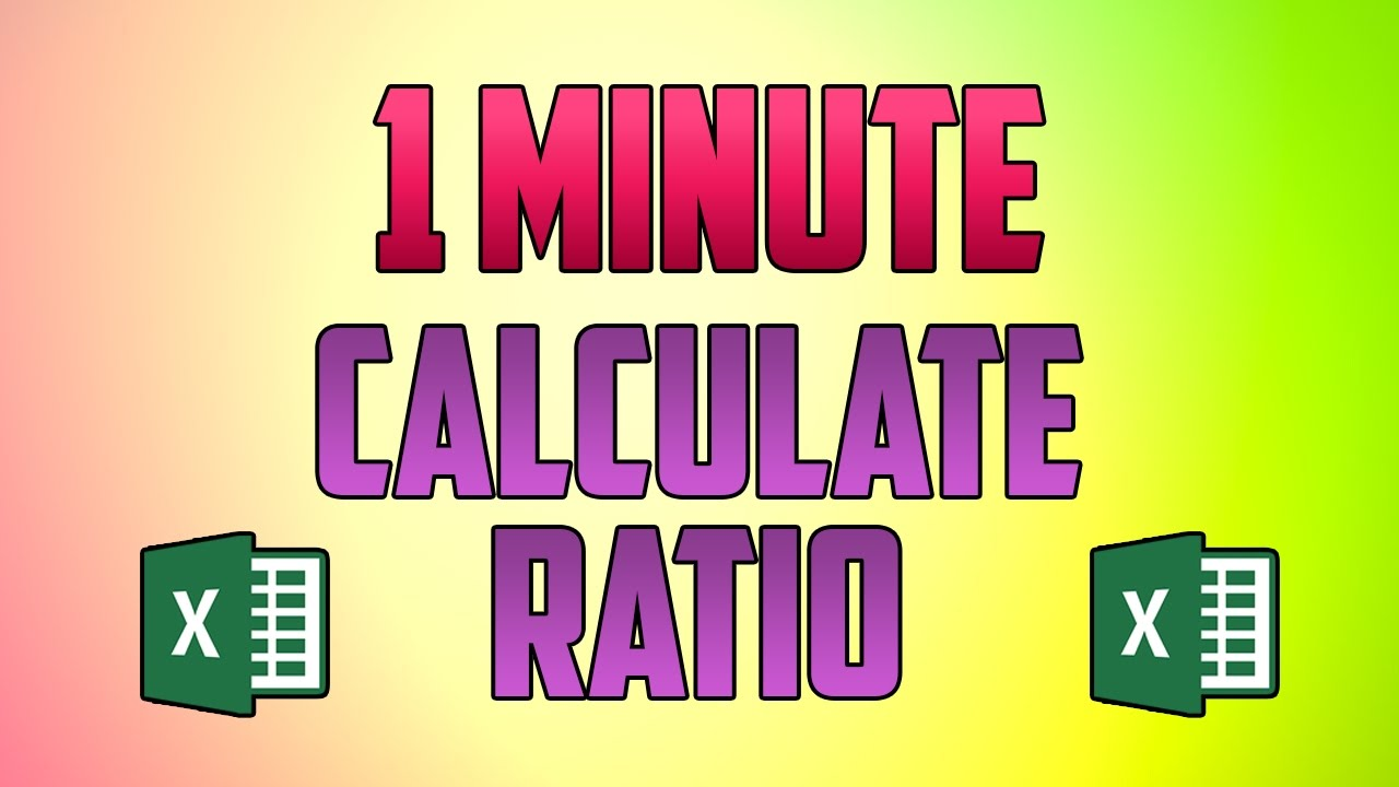 How To Calculate Ratio in Excel? | Ratio Between Two Numbers in Excel