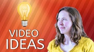 How to BRAINSTORM YouTube Video Ideas
