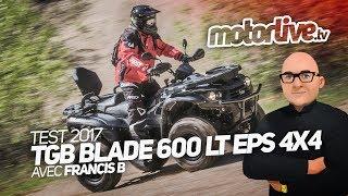 TGB BLADE 600 LT EPS 4x4 | TEST 2017
