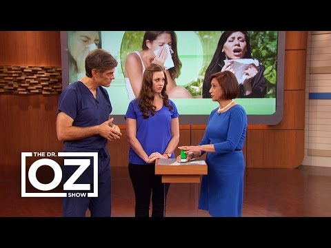 Dr. Oz Compares the Symptoms of a Cold and Allergies