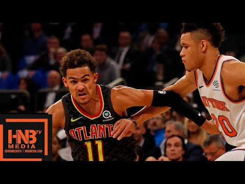 Atlanta Hawks vs New York Knicks Full Game Highlights | 10.17.2018, NBA Season