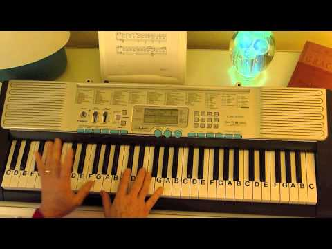 How to Play ~ Moonlight Sonata-C#minor ~  Beethoven ~ LetterNotePlayer ©