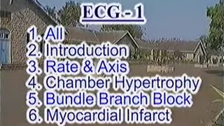 ECG Videos by Dr  Ghanshyam Vaidya CD1