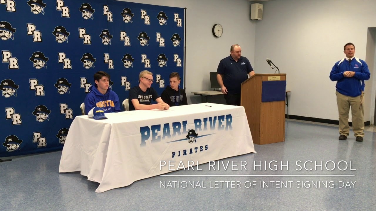 National Letter of Intent Signing Day - YouTube