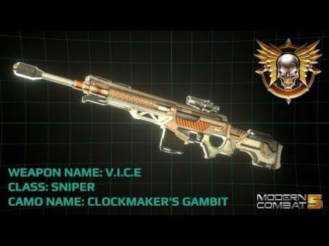 Modern Combat 5VN: VICE - thời kỳ sniper đã trở lại