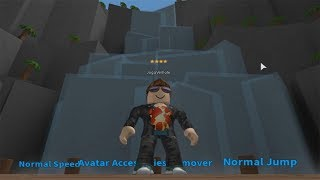 ROBLOX: THE OLD MAN ESCAPED FROM THE GIANT WATERFALL! -Play Old man
