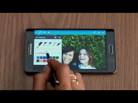 The Samsung Galaxy Note Edge – S Pen