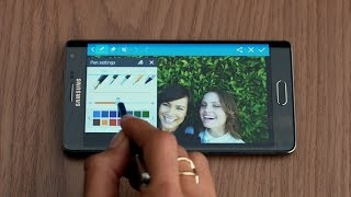 Samsung: The Samsung Galaxy Note Edge – S Pen
