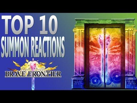 Brave Frontier | Episode #440: Top 10 Summon Reactions!