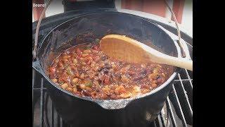 Heat & Sweet Bar-B-Q Baked Beans!