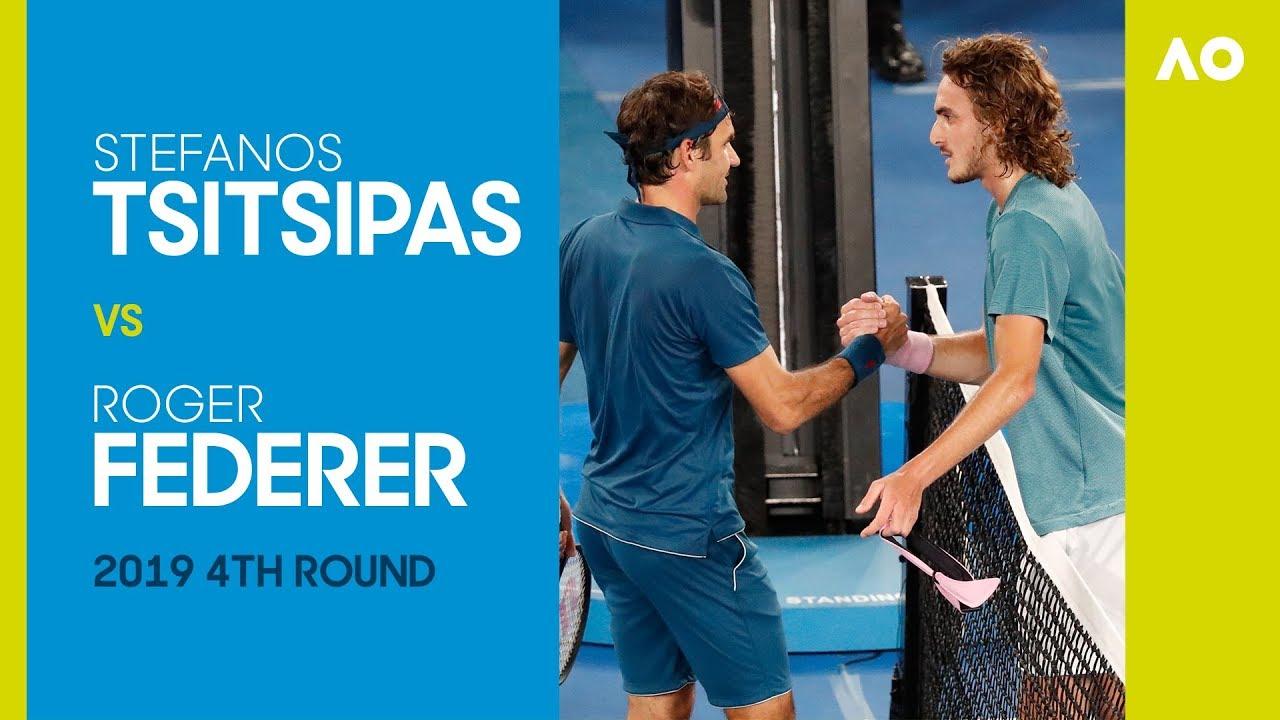 Stefanos Tsitsipas V Roger Federer Australian Open 2019 4r Ao Classics Youtube