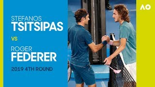 AO Classics: Stefanos Tsitsipas v Roger Federer (2019 4R)