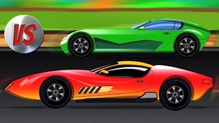 sports car racing | kids race | kids cars cartoon | videos for kids